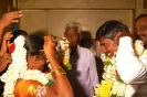 Wedding ceremony - exchanging garlands