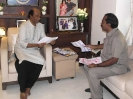 Meeting with film superstar Mr. Rajinikanth