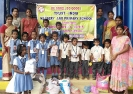 Flood Relief support from TRUST-INDIA school