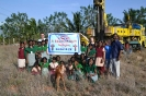 Group with Bore Hole drill