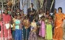 Children and sugar cane