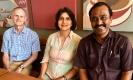 Thiru with Madhuri & Viv