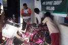 New bicycles to get to school - provided by UK Support Group