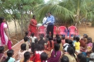 Mr Ponraj making a presentation at the Children's Home