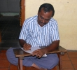Thirumaran at work at home