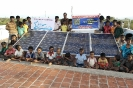 Solar panel project supported by STAR Health Insurance